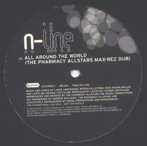 N-Line - All Around The World
