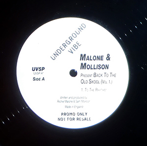 Malone & Mollison - Back To The Old Skool (Vol. 1)