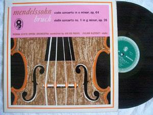 Bruch / Mendelssohn - JULIAN OLEVSKY - Violin Concerto E Min. op 64, Gmin. Op. 26