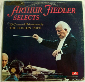 Arthur Fiedler  -  Boston Pops Orchestra - 10 Command Performances