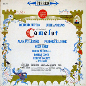 ALAN JAY LERNER, FREDERICK LOEWE - Camelot (Original Broadway Cast Recording) - 12 inch x 1