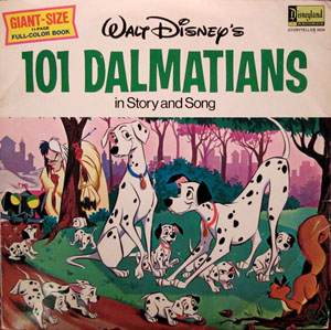 WALT DISNEY - 101 Dalmations In Story And Song - LP
