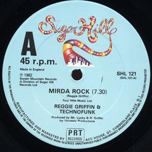 Reggie Griffin & Technofunk - Mirda Rock