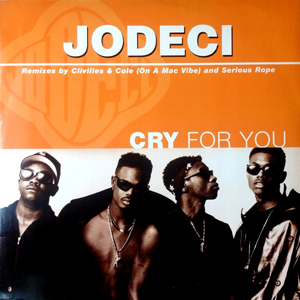 JODECI - Cry For You - 12 inch x 1
