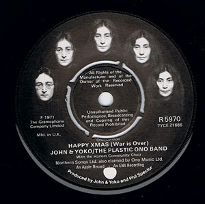John & Yoko & Plastic Ono Band, The -  Happy Xmas (War Is Over) / Listen