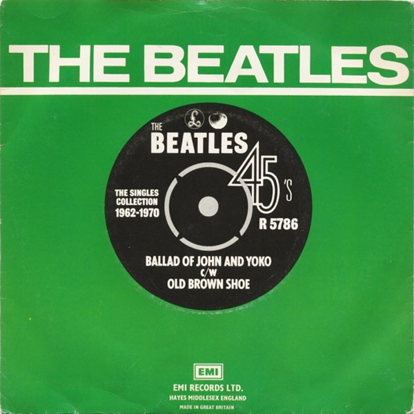 Beatles, The - Ballad Of John And Yoko / Old Brown Shoe