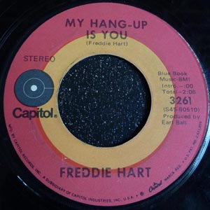 Freddie Hart ? - My Hang-Up Is You / Big Bad Wolf