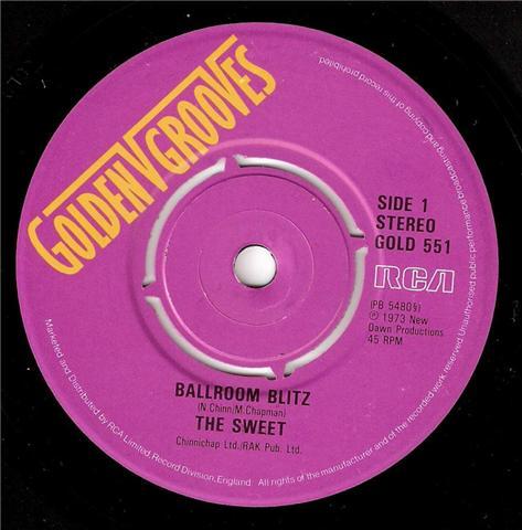 Sweet, The - The Ballroom Blitz / Wig Wam Bam