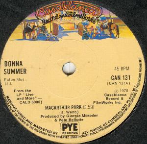 Donna Summer - MacArthur Park