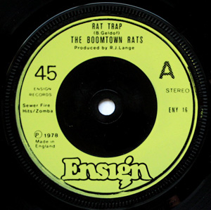 Boomtown Rats, The - Rat Trap
