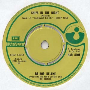 Be-Bop Deluxe - Ships In The Night