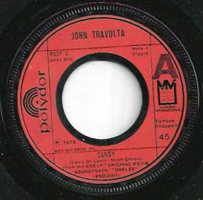 John Travolta - Sandy