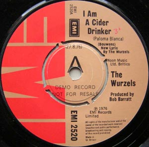 Wurzels, The - I Am A Cider Drinker / The Back Of My Old Car