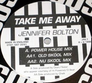 JENNIFER BOLTON - Take Me Away