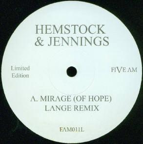 HEMSTOCK AND JENNINGS - Mirage (Of Hope)