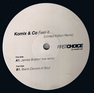 KOMIX - Feel It (Limited Edition Remix)