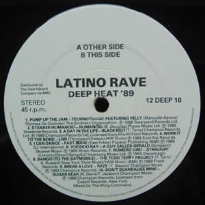 LATINO RAVE - DEEP HEAT 89