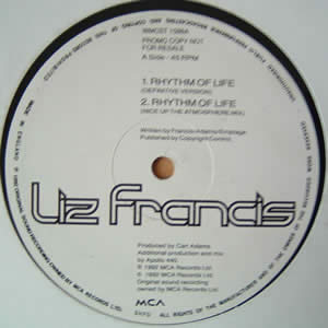 LIZ FRANCIS - RHYTHM OF LIFE (APOLLO 440 MIXES)