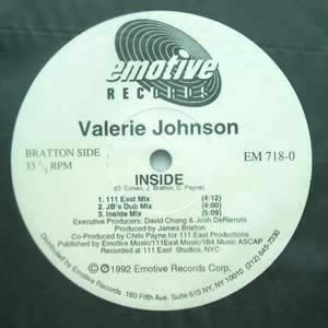 VALERIE JOHNSON - INSIDE