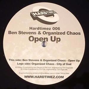BEN STEVENS & ORGANIZED CHAOS - OPEN UP