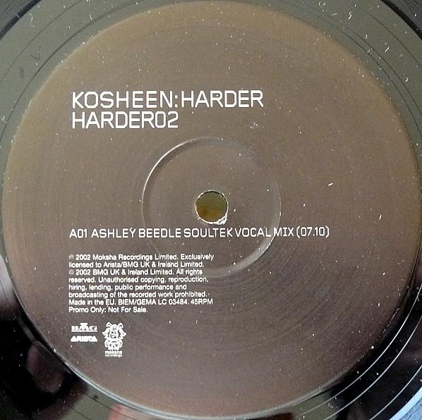 KOSHEEN - HARDER - Maxi x 1