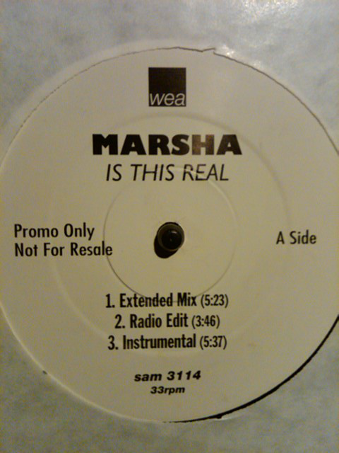 MARSHA - IS THIS REAL