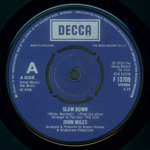 John Miles - Slow Down