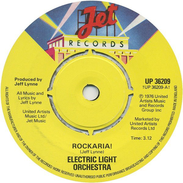 Electric Light Orchestra - Rockaria!