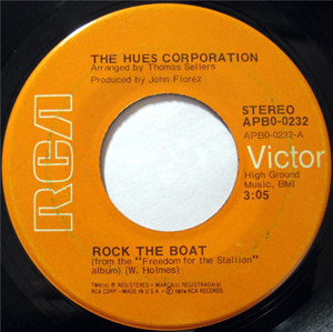 Hues Corporation, The - Rock The Boat