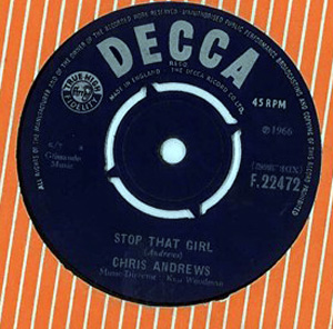 Chris Andrews - Stop That Girl