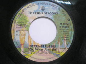 Four Seasons, The? - December, 1963 (Oh, What A Night)