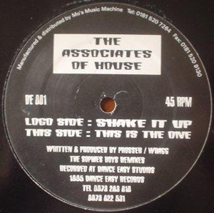 Associates Of House, The - Shake It Up / This Is The One (Sophies Boys Mixes)