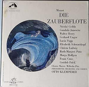 MOZART - KLEMPERER - Phil Orch. -  Die Zauberflote