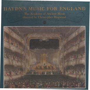 HAYDN - CHRISTOPHER HOGWOOD - MUSIC FOR ENGLAND