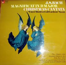 J.S. Bach, Theo Altmeyer, Siegmund Nimsgern - Magnificat In D Major / Christmas Cantata