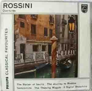 Rossini  - VSO - Molinari-Pradelli - Overtures
