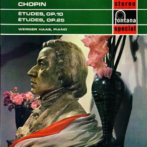 Chopin, Werner Haas - ?tudes Op. 10 And Op. 25