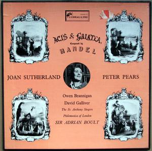 Handel - Boult - Sutherrland - Acis & Galatea