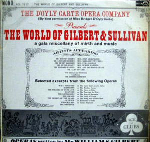 Gilbert & Sullivan - The World of Gilbert & Sullivan
