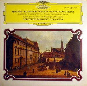 Mozart - Camerata Academica Salzburg, G?za Anda - C-Dur/ In C Maj / KV 503 C-Dur / In C Maj / KV 246