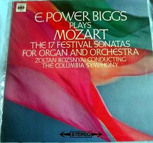 Mozart - Zoltan Rozsnyai - Columbia Symp. Orch. - 17 Festival Sonatas