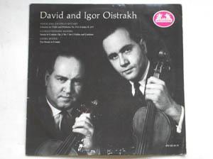 Mozart Handel Benda - Oistrakh, David & Igor - Concerto Violin Orchestra No 5 A Maj K 219