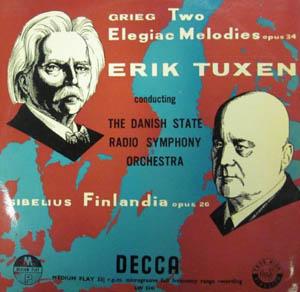 Grieg - Sibelius/Tuxen - Two Elegiac Melodies