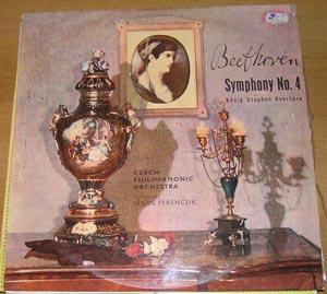 Beethoven, Czech Philharmonic Orchestra - Symphony No. 4 / K?nig Stephan Overture