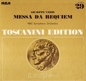 TOSCANINI - Guiseppe Verdi - NBC Orch. - Messa Da Requiem
