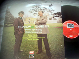 Telmann - Sammartini- Handel - MUNROW & MARRINER - Suite in A Minor Concerto in F / B Flat