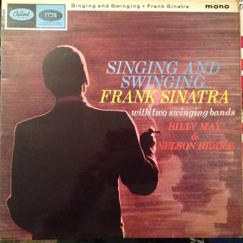 Frank Sinatra With Two Swinging Bands - Singing And Swinging