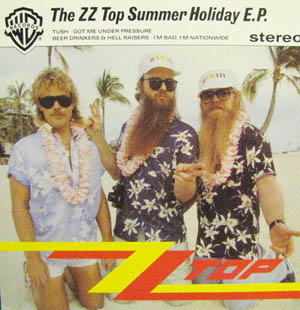 ZZ Top - The ZZ Top Summer Holiday EP