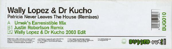 Wally Lopez & Dr Kucho - Patricia Never Leaves The House (Remixes)