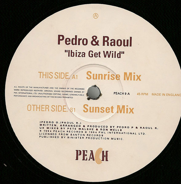 PEDRO AND RAOUL - IBIZA GET WILD